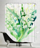 "Americanflat American Flat ""Lilies Of The Valley_3"" Shower Curtain by Suren Nersisyan"