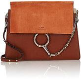 Chloé Women's Faye Medium Shoulder Bag-BROWN