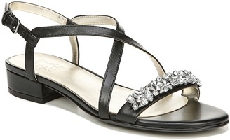 Naturalizer Low Heel Slingbacks w/ Rhinestone Detail - Macy
