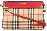 Burberry Horseferry check crossbody bag - women - Leather/Nylon - One Size