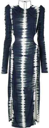 Dion Lee Tie-Dye Cut-Out Dress
