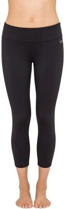 Calvin Klein Performance Crop Tight With Shirring Leggings