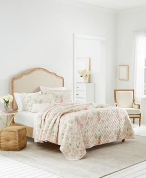 Laura Ashley Breezy Floral Twin Quilt Set Bedding