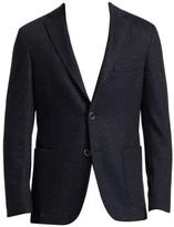 Saks Fifth Avenue Donegal Tweed Jacket