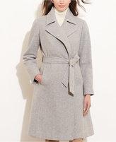 Lauren Ralph Lauren Belted Open-Front Coat