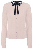 RED Valentino Embellished wool cardigan