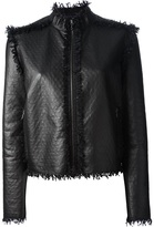 Lanvin textured lamb skin jacket