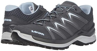 Lowa Innox Pro Lo (Graphite/Ice Blue) Women's Shoes