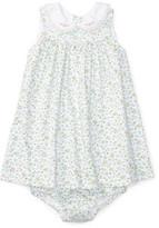 Polo Ralph Lauren Cotton Dress & Bloomer (0-12 Months)