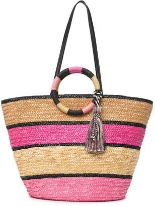 Rebecca Minkoff Straw Tote Bag