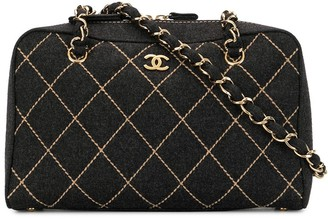 Chanel Pre Owned 2003 Wild Stitch shoulder bag