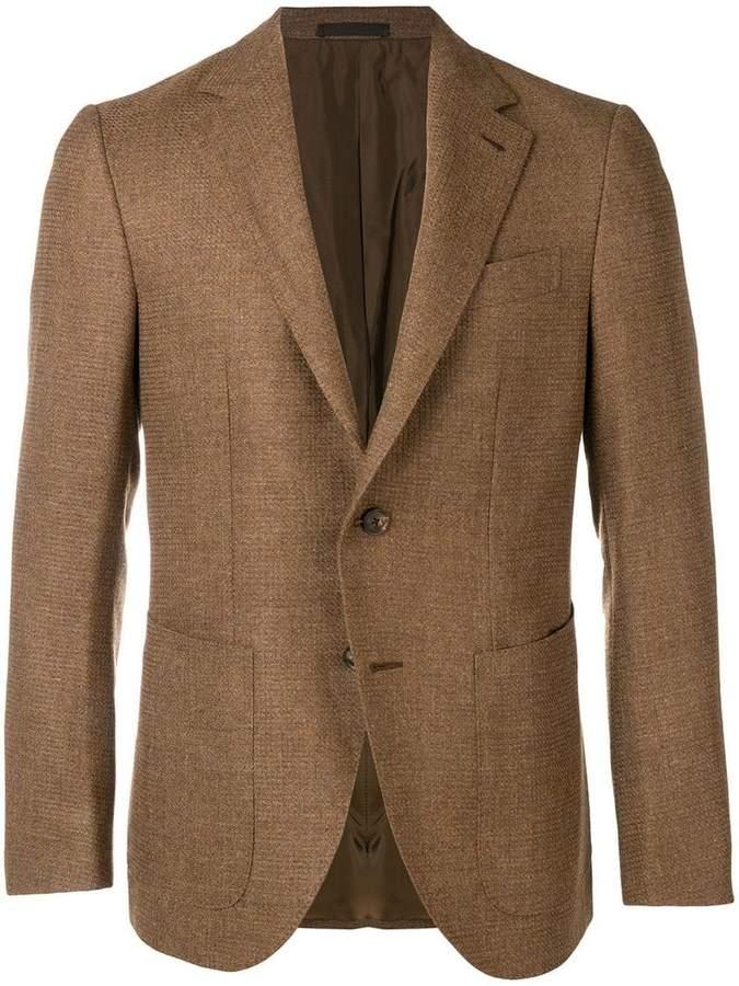 Caruso classic slim-fit blazer