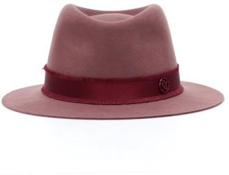Maison Michel Andre wool felt trilby hat