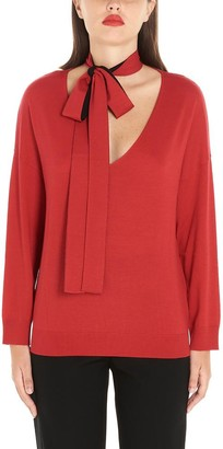 RED Valentino Scarf Sweater