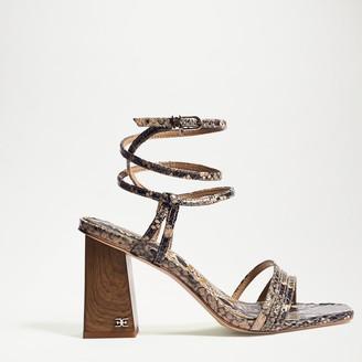 Doriss Block Heel Sandal