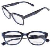 Derek Lam Women's 51Mm Glasses - Blue Tortoise