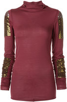 Rick Owens Lilies sequinned top - women - Cotton/Nylon/Polyester/Viscose - 38