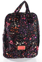 Marc by Marc Jacobs Black Pink Graphic Print Satchel Handle Backpack