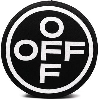 Off-White Cross Logo Print Stool