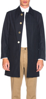 Thom Browne Classic Packable Waxed Cotton Jacket