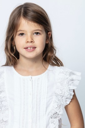 Zadig & Voltaire Kids Gisele Blouse