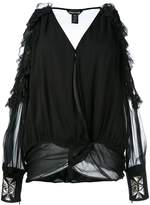 Thomas Wylde cold shoulder blouse