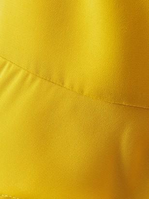 Very Fluted Short Sleeve Top - Ochre