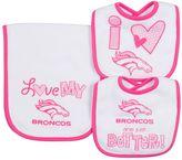 Gerber Baby Denver Broncos 3-Piece Bib & Burpcloth Set