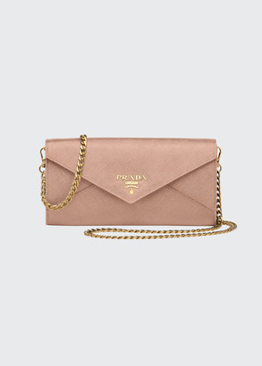 Prada Long Slim Saffiano Envelop Wallet