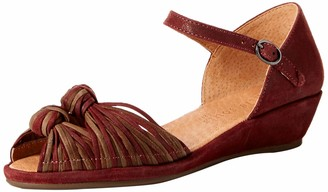 Gentle Souls by Kenneth Cole Women's Lily Knot Wedge Sandal