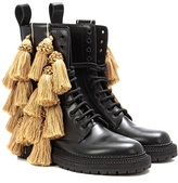 Burberry Aster Tassel leather boots