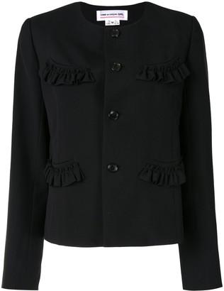 COMME DES GARÇONS GIRL Ruffled Pocket Jacket