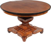 One Kings Lane Vintage 19th C. English Empire-Sty Dining Table