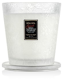 Voluspa Volsupa Spiced Goji Tarocco Orange Limited Edition Mini Hearth Candle