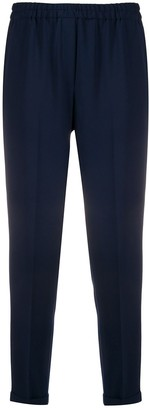Antonelli Cropped Elasticated Trousers