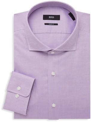 HUGO BOSS Sharp-Fit Woven Dress Shirt