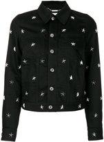 Givenchy star studded jacket
