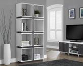 Monarch Specialties I 7076 /Grey Hollow-Core Bookcase