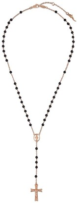 Dolce & Gabbana 18kt Rose Gold Jade Tradition Rosary