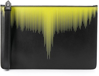 Marcelo Burlon County of Milan Striped-Ombre Pouch