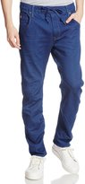 G Star Men's Arc 3D Sport Tapered Rinn Trainer Knit Jean