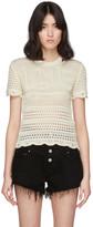Amiri Off-White Love Crochet T-Shirt