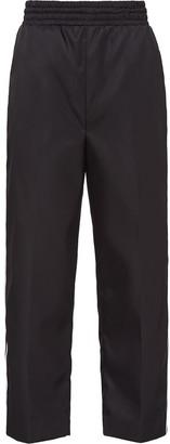 Prada cropped track pants