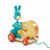 Djeco Bunny boum pull toy