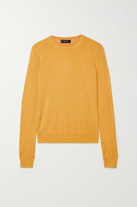 Theory Wool-blend Sweater - Yellow
