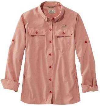 L.L. Bean Women's No Fly Zone Shirt, Long-Sleeve