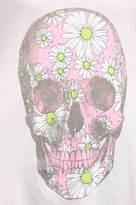 Wildfox Couture Daisy Skull Dreamer Tank in Daisy