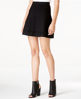 Armani Exchange Flared Pull-On Skirt