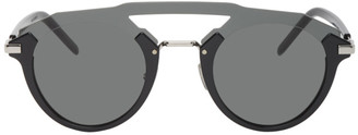 Christian Dior Black DiorFuturistic Sunglasses
