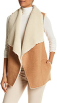 Soft Joie Sleeveless Faux Shearling Vest